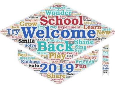 Welcome Back to School 2019
